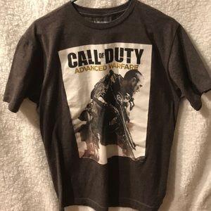 Call of Duty Advanced Warfare t-shirt Sz L EUC